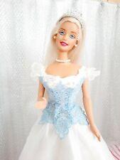 2001 cuentos de hadas barbie novia/Princess Bride/Princesa & vestido de novia #28251