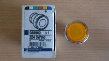 Telemecanique Push-Button Head (with Plain Lens) Orange Spring Return ZB4 BW353