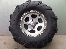 2002 YAMAHA GRIZZLY 600 4X4 ITP RIGHT FRONT WHEEL/ RIM