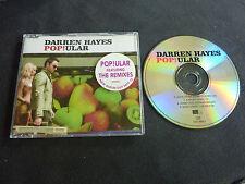 DARREN HAYES POPULAR RARE AUSSIE CD SINGLE!