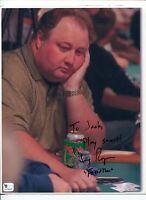 Greg Raymer World Series of Poker Champ Signed Autograph Photo COA
