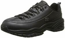 Skechers for Work Women's Soft Stride-Softie Lace-Up, Black, 9 B - Medium