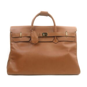 Gucci Travel Bag  Light Brown Leather 2402205