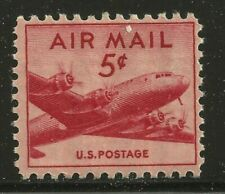 Scott C33- MNH- DC-4 Skymaster- AIRMAIL 5c 1947