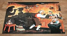 Disney's Pinocchio Retro Club Nintendo Poster 42x28cm