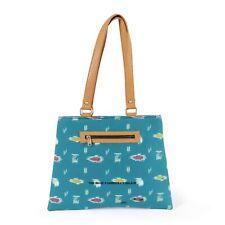 Women Girls Bag Small Handbag Shoulder Tote Satchel Ladies Ikat Print Clutch Bag
