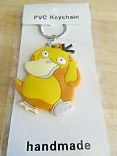 "Pokemon Psyduck Silica Two Sided Keychain 2.5"" Inches (NEW)"