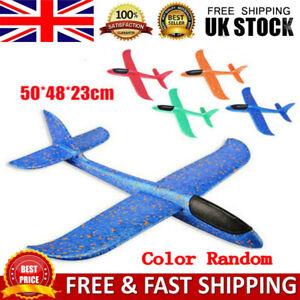 1/2/3pcs EPP Foam Hand Throw Airplane Outdoor Launch Glider Plane Kids Toys Gift