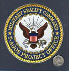 MSC Military Sealift Command T-AGOS PROJECT US Navy Ship Squadron Jacket Patch