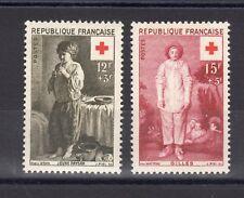 "FRANCE: SERIE DE 2 TIMBRES "" CROIX ROUGE "" NEUF** YTN°1089/1090 Cote:  7,10€"
