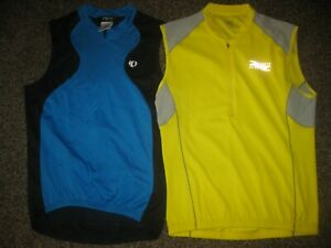 2-Lot of Sleeveless Cycling Jerseys L Pearl Izumi & Zoot Sports Bike Bicycle