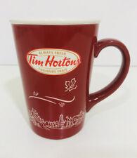 Tim Hortons coffee mug Limited Edition 2010 #010 Canada maple leaf skyline.