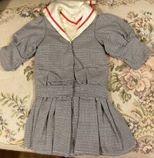 """Fine French Type Cotton Doll Dress for 21"""" Antique Bisque Doll"""