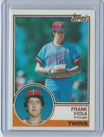 1983 Topps #586 - Frank Viola Rookie Card - Minnesota Twins - Set Break NM