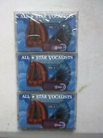 All Star Vocalists Volumes 1,2,3