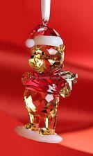 SWAROVSKI DISNEY WINNIE THE POOH CHRISTMAS ORNAMENT 5030561 MINT BOXED RETIRED