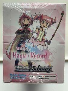 Weiss Schwarz Magia Record Puella Magi Madoka Magica Side Story Booster Box EN