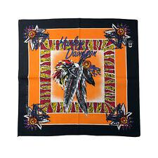 Harley Davidson Bandana - American Spirit - New Old Stock - Feathers