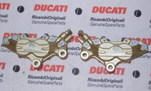 Ducati Monster 900SS 748 916 996 Brembo GOLD PAIR front brake 4-piston calipers