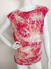 Calvin Klein Woman 3X Plus Confetti Pattern Multicolor Top Cap Sleeve Blouse NWT