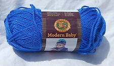 "Lion Brand ""Modern Baby"" in Blue - New & Smoke Free Home, Discontinued Line"