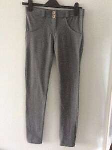 FREDDY Wr.up Shaping Bum Lifting Stretch Push Up Jeggings Grey Size 8
