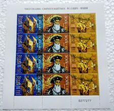 Macau 1998-5-SL Vasco Da Gama (error) 12v Stamps Sheetlet Mint NH