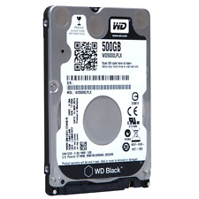"Western Digital Black 500GB 7200RPM 32MB SATA 6GB/s 2.5"" HDD WD5000LPLX gam"