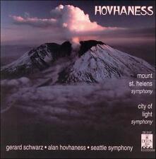 "Hovhaness: Symphony Nos. 22 ""Mount St Helens"" & 50 ""City Of Light"" (CD, Delos)"