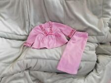 American Girl Doll Julie Pink Pajamas 2 Pc Retired Gently Used