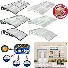 Sun Rain Door Canopy Awning Shelter Front Back Porch Outdoor Shade Patio Roof