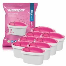 8x Wessper Aquamax MG Wasserfilter Magnesium für BRITA Maxtra Marella Amazon