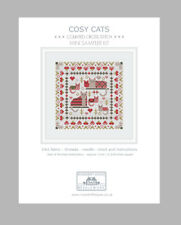 MINI COSY CATS COUNTED CROSS STITCH KIT by RIVERDRIFT HOUSE