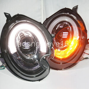 2007-2013 Year for Mini Cooper Clubman R55 R56 R57 LED Front Lights SN