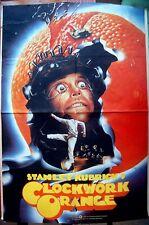 1982 Original OFFICIAL FILM POSTER Movie A CLOCKWORK ORANGE Stanley KUBRICK