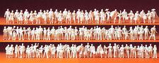 Preiser 79008 N Reisende und Passanten  120 unbemalte Figuren weiß
