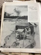 M8-8 Ephemera Ww1 Picture 1938 Gunboats The Moth And Firefly Tigris