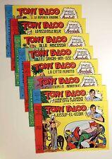 TONY FALCO - ALBI DAL n 13 AL n 20 - COME NUOVI - RISTAMPA 1976 DEGLI ORIGINALI