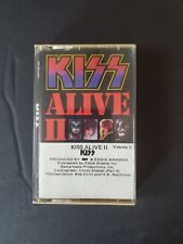 Kiss Alive II Volume IIUnused Casette