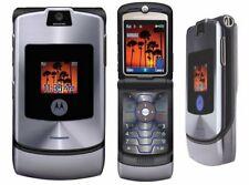 MOTOROLA V3i RAZR CHEAP FLIP MOBILE PHONE-UNLOCKED WITH NEW CHARGAR AND WARRANTY