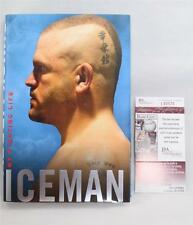 Iceman : My Fighting Life Book Signed by Chuck Liddell  (2008, Hardcover)