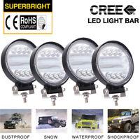 4 INCH Car Truck LED Work Spot Light Flood Driving Bright Bulb SUV 300W 12V 24V+