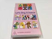 ABC LETS SING AND DANCE ~VHS PAL  VIDEO A RARE FIND