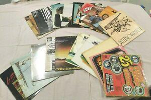 LOT 20 VINYLES 33T musique ROCK POP FOLK vinyle Bob DYLAN Peter GABRIEL Bamba 9