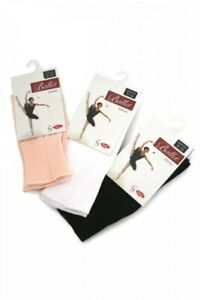 Silky Pink Ballet / Dance Socks