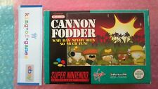 ♕ Original CANNON FODDER PAL SUPER NES SNES SUPER NINTENDO 🌊DISCOUNT -30% !!!🔥