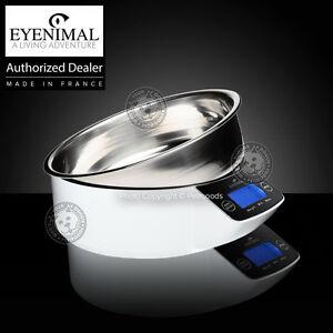 Eyenimal Intelligent Pet Bowl Dog Cat Large Electronic Scale Food-Liquids 1.1lbs