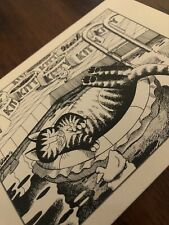 "New listing Vintage Kliban Cat Cartoon Birthday Card Print ""Dreaming In The Pool"" 1978"