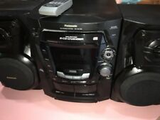 Panasonic SA-AK100 with two speakers and remote