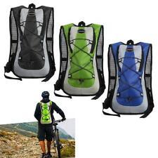 5L Bolsa Mochila de Agua Hidratación para Bicicleta Mtb Excursión Negro